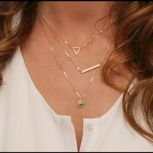 Jewelry - Dainty 3 Layered Gold Necklace
